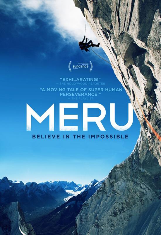 Меру MeruВ фильме Меру в октябре 2008 года альпинисты Конрад Анкер, Джимми Чин и Ренан Озтюрк прибыли в Индию для восхождения на пик Меру, по знаменитому северо-восточному склону Meru Central (6630 м) по маршруту «Shark»s Fin».<br>