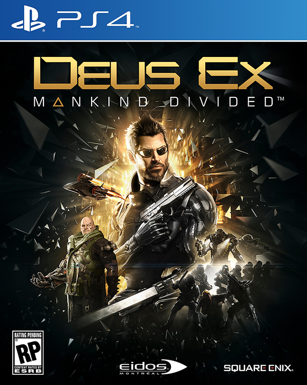 Deus Ex: Mankind Divided [PS4] видеоигра для ps4 deus ex mankind divided