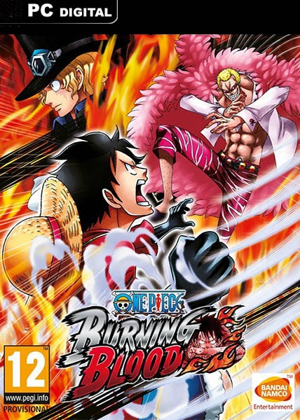 One Piece: Burning Blood [PC, Цифровая версия] (Цифровая версия) xeltek private seat tqfp64 ta050 b006 burning test