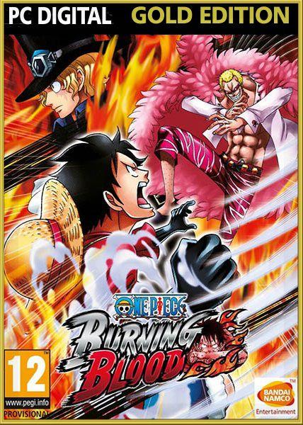 One Piece: Burning Blood. Gold Edition (Цифровая версия)Закажите игру One Piece: Burning Blood до 1 сентября 2016 года включительно и получите трех новых персонажей (Луффи в 4-м гире, Луффи (Кунфу) и Луффи (Афро), а также оболочку интерфейса в стиле Луффи в подарок.<br>