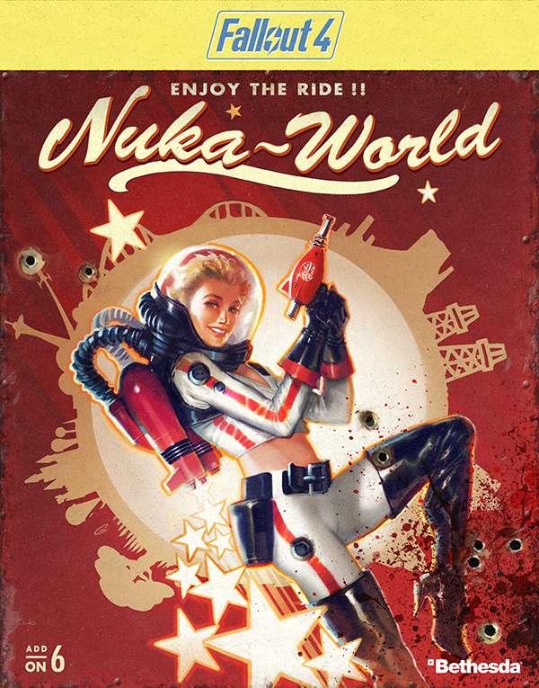 Fallout 4. Nuka-World. Дополнение [PC, Цифровая версия] (Цифровая версия)С дополнением Fallout 4. Nuka-World вы отправляетесь в Ядер-Мир, огромный парк развлечений, ставший рейдерской цитаделью, где царит беззаконие. Исследуйте совершенно новую область, на обширных пространствах которой нашлось место и для секторов – таких, как Сафари, Сухое ущелье, Детское королевство и Галактика.<br>