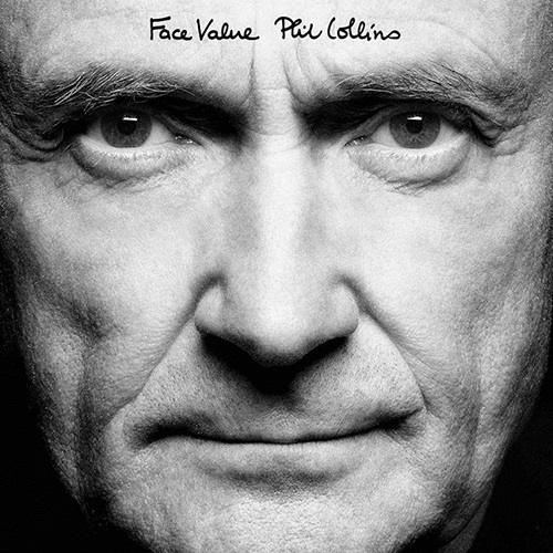 Phil Collins. Face Value. Remastered (LP)