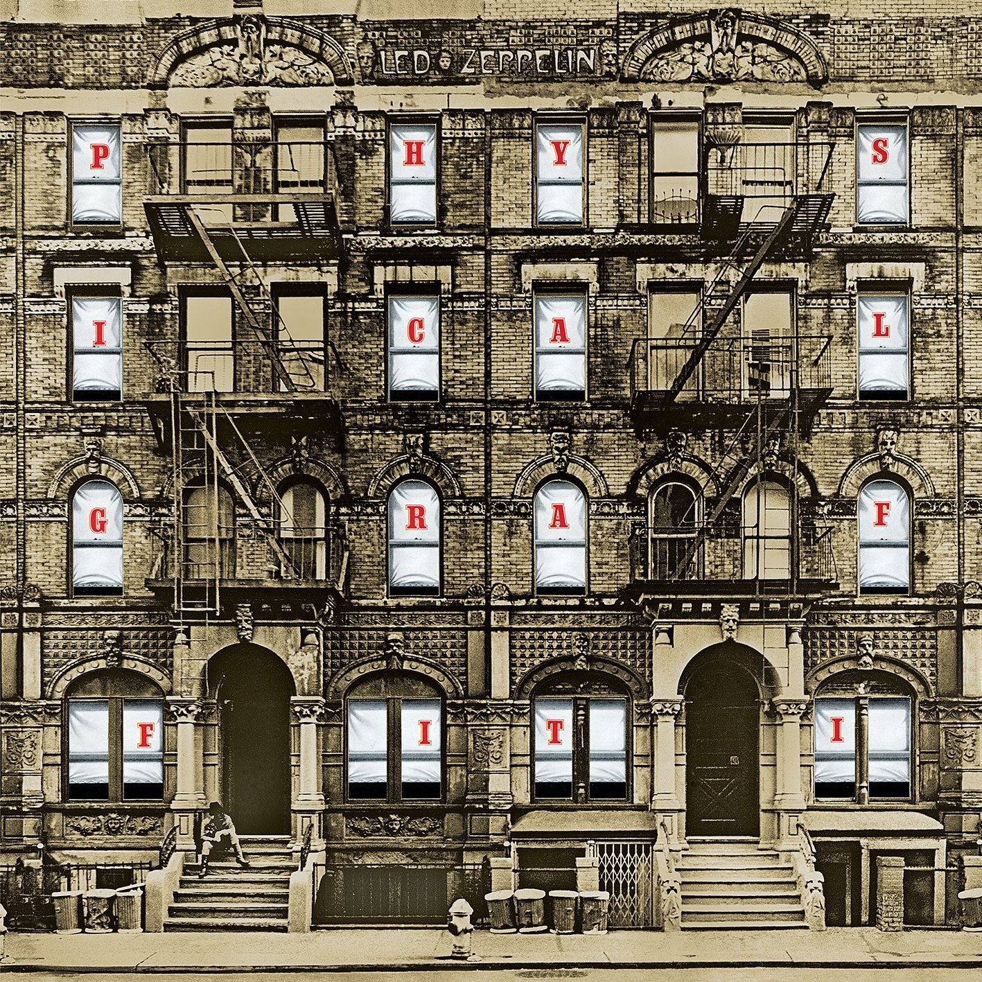 Led Zeppelin. Physical Graffiti (3 LP) led zeppelin led zeppelin physical graffiti 3 lp