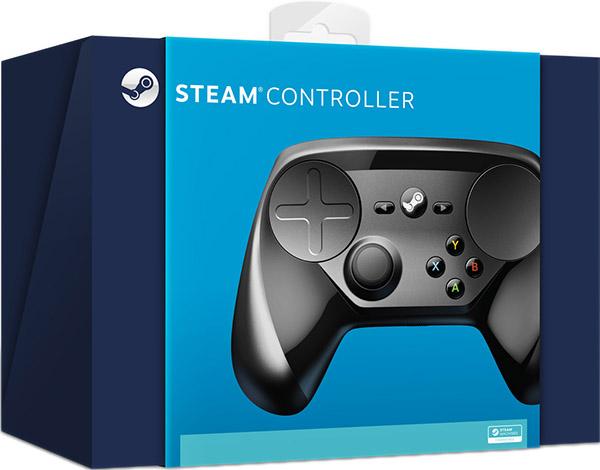 Беспроводной геймпад Steam Controller для PC + 19 игр Valve
