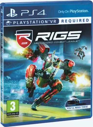 RIGS: Mechanized Combat League (только для VR) [PS4]Эксклюзивная для PlayStation VR игра RIGS бросает вас на боевые арены, где механизированный бой сталкивается с футуристическим спортом.<br>
