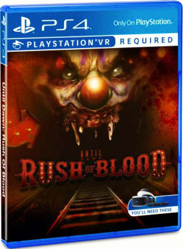Until Dawn: Rush Of Blood (только для VR) [PS4]