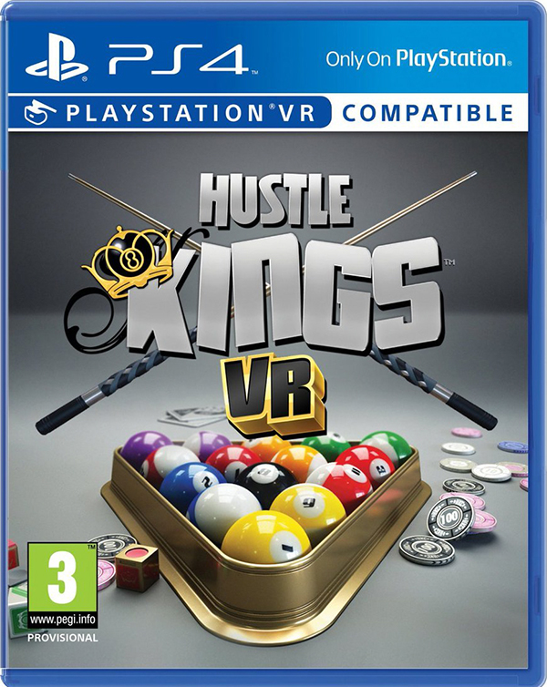 Hustle Kings (поддержка VR) [PS4]В Hustle Kings – перенеситесь в лучшие бильярдные мира и продемонстрируйте свое мастерство игры.<br>