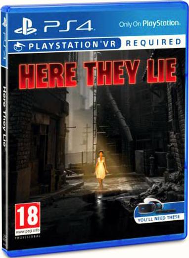 Что скрывает тьма (Here they lie) (только для VR) [PS4]