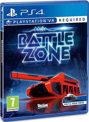 Battlezone (только для VR) [PS4]В игре Battlezone ощутите всю мощь PlayStation VR и перенеситесь в кабину пилота одного из самых опасных транспортных средств на планете – танк «Кобра» (Cobra).<br>