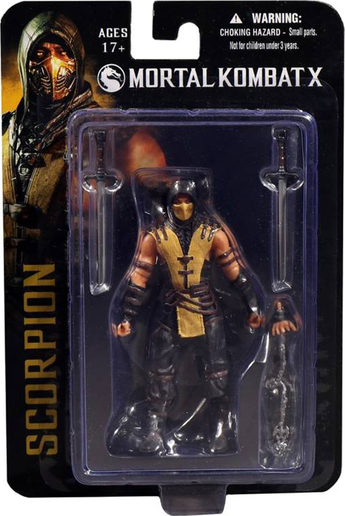 Фигурка Mortal Kombat X. Scorpion (10 см) от 1С Интерес