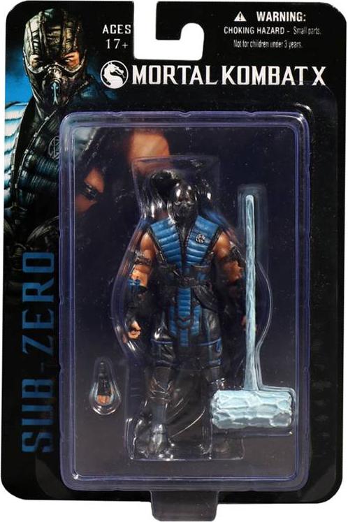 Фигурка Mortal Kombat X. Sub-Zero (10 см)Представляем вашему вниманию фигурку Mortal Kombat X. Sub-Zero, воплощающую собой ледяного убийцу, одного из самых хладнокровных персонажей Mortal Kombat.<br>