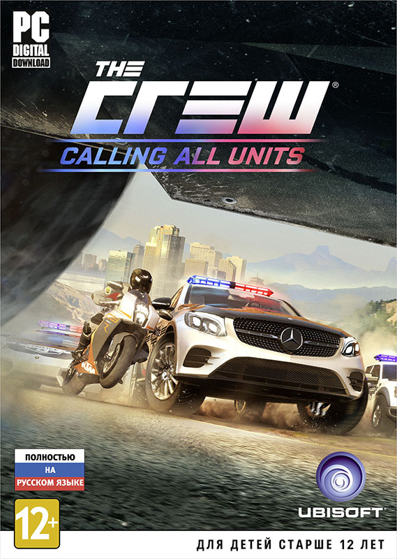 The Crew. Calling All Units. Дополнение [PC, Цифровая версия] (Цифровая версия) trials fusion riders of the rustlands дополнение [pc цифровая версия] цифровая версия