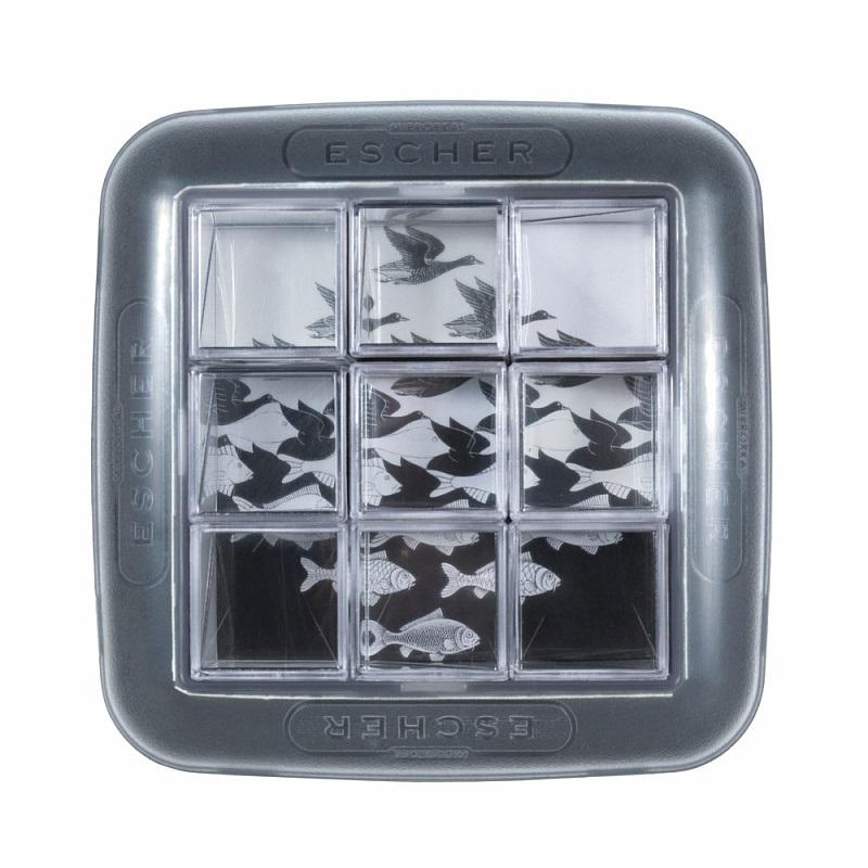 Головоломка ЭшерПредставляем вашему вниманию головоломку Эшер, редчайшую по своей идее игру-головоломку на основе зеркальных отражений в сочетании с концептуальной графикой голландского художника Мориса Корнелиуса Эшера.<br>