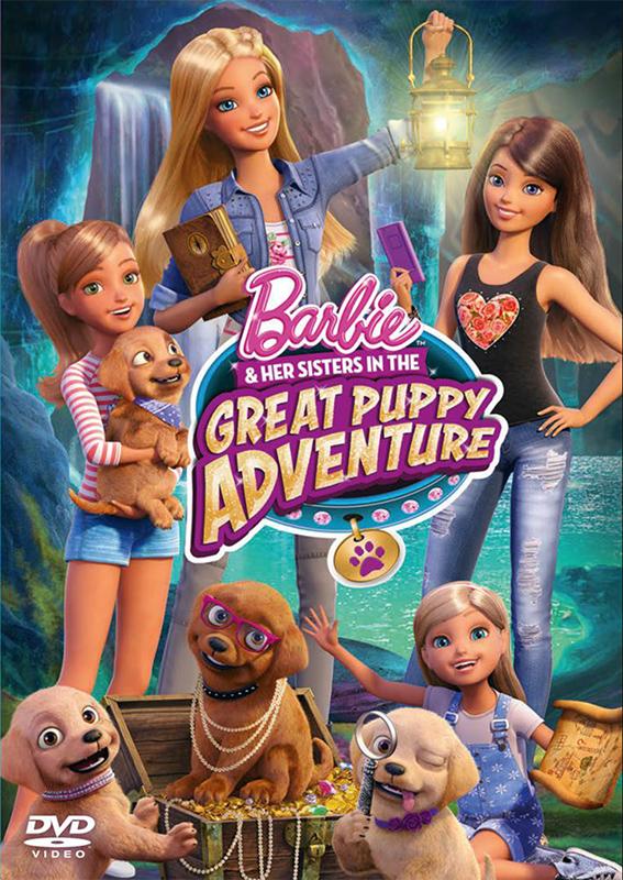 Барби и щенки в поисках сокровищ Barbie & Her Sisters in the Great Puppy Adventure