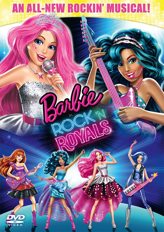 Барби: Рок-принцесса (DVD)