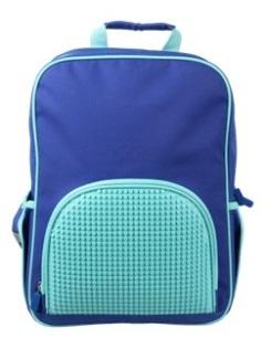 Школьный рюкзак в ярких красках WY-A022-a (Голубой)Представляем вашему вниманию школьный рюкзак в ярких красках WY-A022-a, имеющий силиконовую панель, на которой с помощью «пикселей» в виде мозаики выкладывается абсолютно любой рисунок на ваш вкус и цвет.<br>