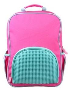 Школьный рюкзак в ярких красках WY-A022-a (Розовый)Представляем вашему вниманию школьный рюкзак в ярких красках WY-A022-a, имеющий силиконовую панель, на которой с помощью «пикселей» в виде мозаики выкладывается абсолютно любой рисунок на ваш вкус и цвет.<br>