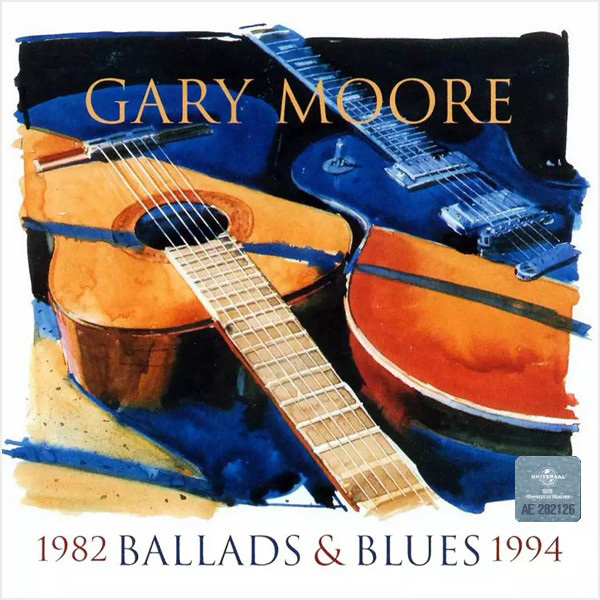 Gary Moore: Ballads & Blues 1982–1994 (CD) cd gary moore the rock collection