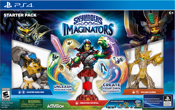 Skylanders Imaginators. Стартовый набор [PS4]