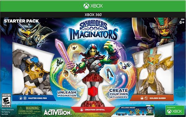 Skylanders Imaginators. Стартовый набор [Xbox 360]Мастера порталов смогут воплотить свои мечты в жизнь так, как никогда не могли ранее! Skylanders Imaginators впервые дарят детям возможность создавать скайлендеров и оживлять их в полностью новом приключении со сложным сюжетом, загадками, сражениями и новой линейкой героев и злодеев.<br>
