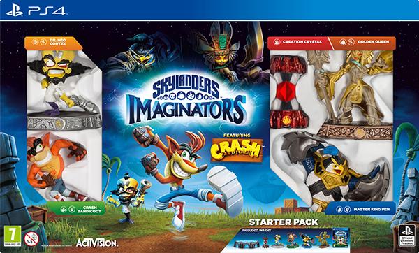 Skylanders Imaginators. Стартовый набор. Crash Edition [PS4]
