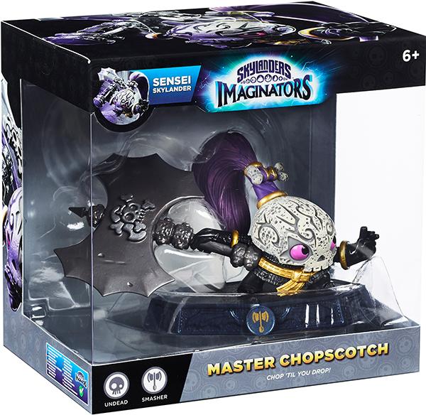 Skylanders Imaginators. Интерактивная фигурка. Сэнсэй. Chopscotch (стихия Undead)