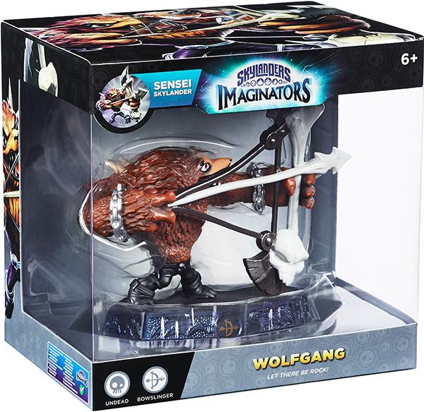 Skylanders Imaginators. Интерактивная фигурка. Сэнсэй. Wolfgang (стихия Undead)