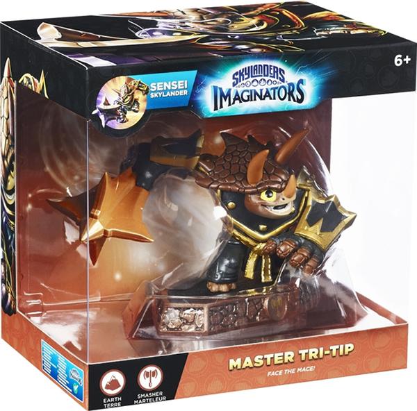 Skylanders Imaginators. Интерактивная фигурка. Сэнсэй. Tri-Tip (стихия Earth)