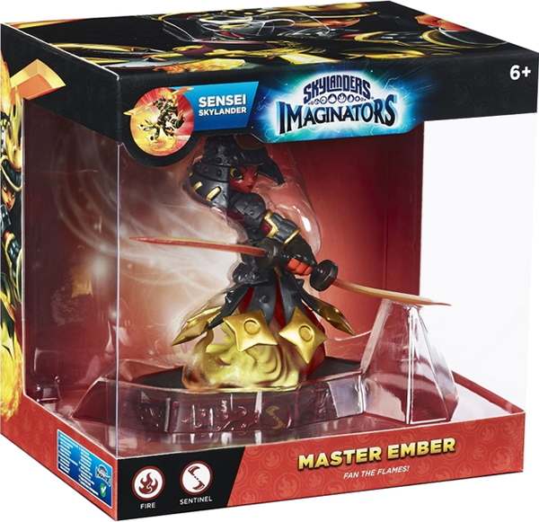Skylanders Imaginators. Интерактивная фигурка. Сэнсэй. Ember (стихия Fire)
