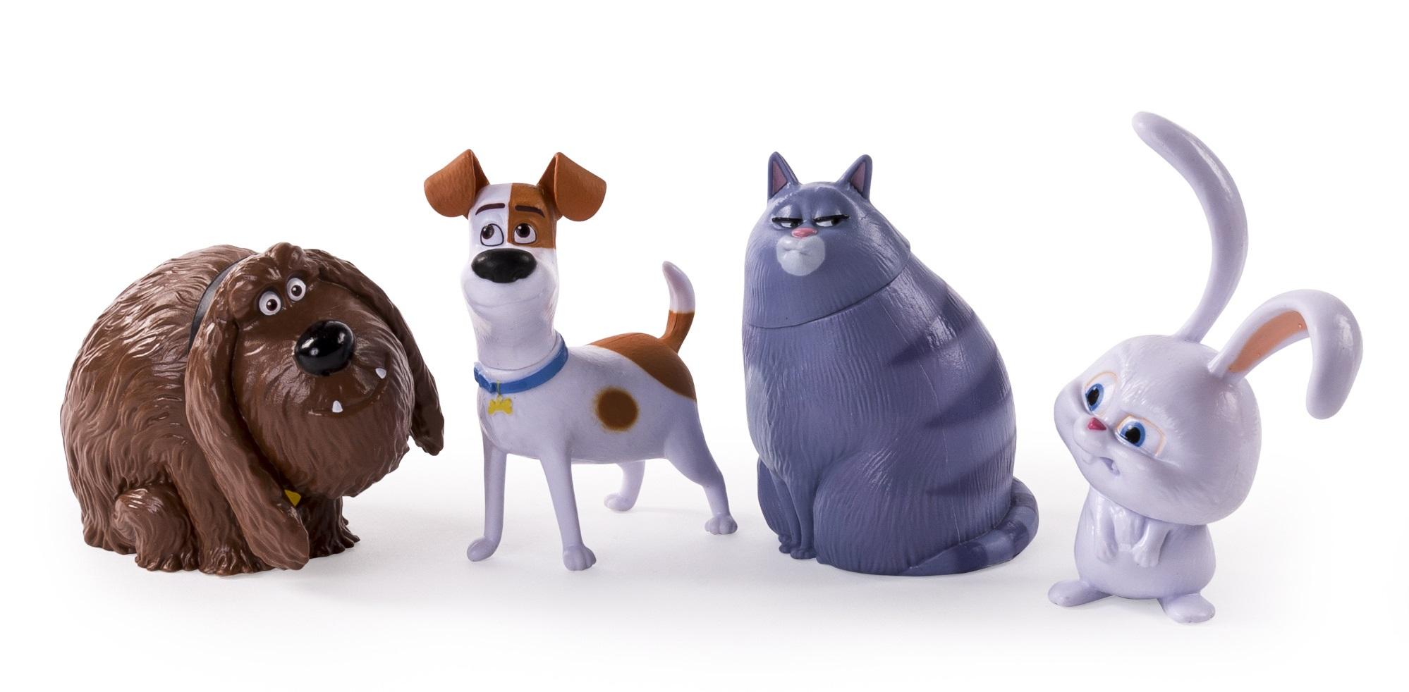 Набор фигурок Тайная жизнь домашних животных (Secret Life Of Pets). 4 в 1