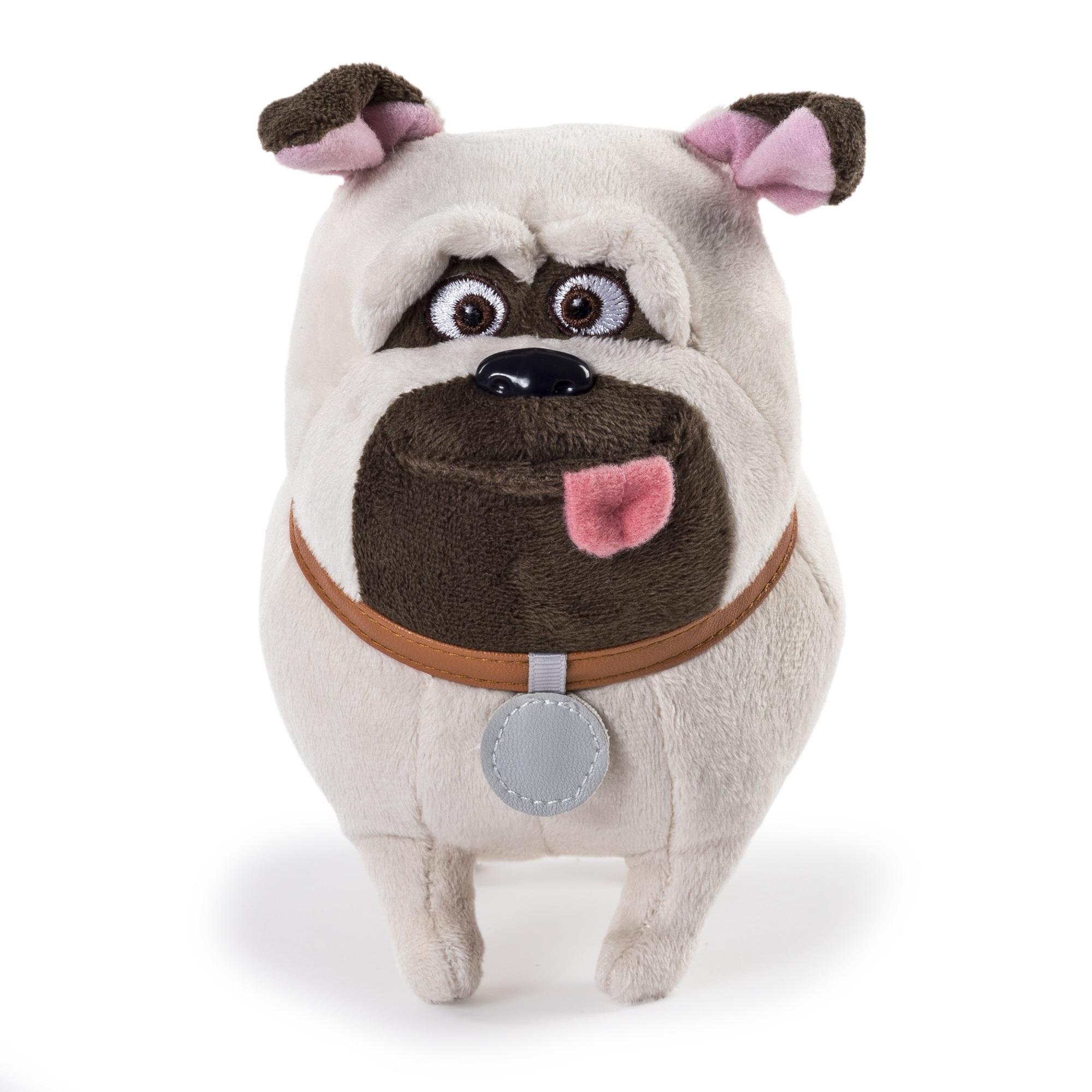 Мягкая игрушка Тайная жизнь домашних животных (Secret Life Of Pets). Мопс Мел (15 см)