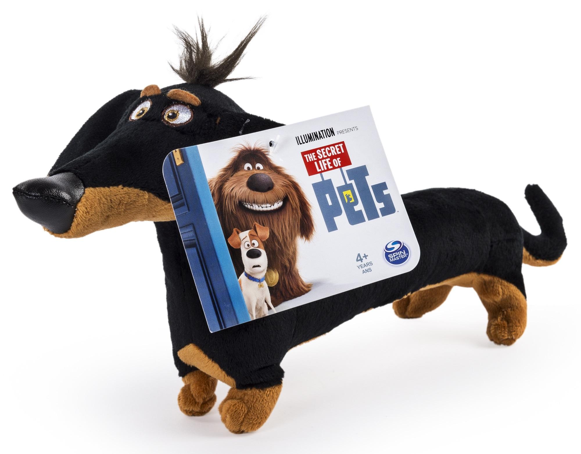 Мягкая игрушка Тайная жизнь домашних животных (Secret Life Of Pets). Такса Бадди (15 см)