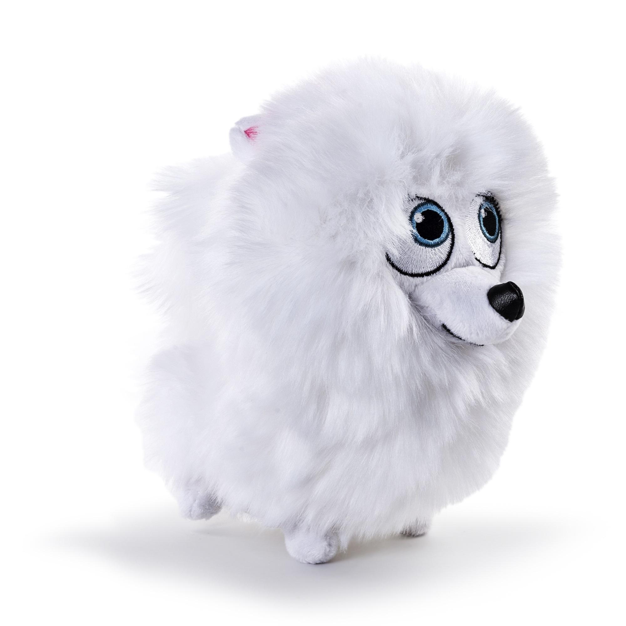 Мягкая игрушка Тайная жизнь домашних животных (Secret Life Of Pets). Шпиц Гиджет (15 см)