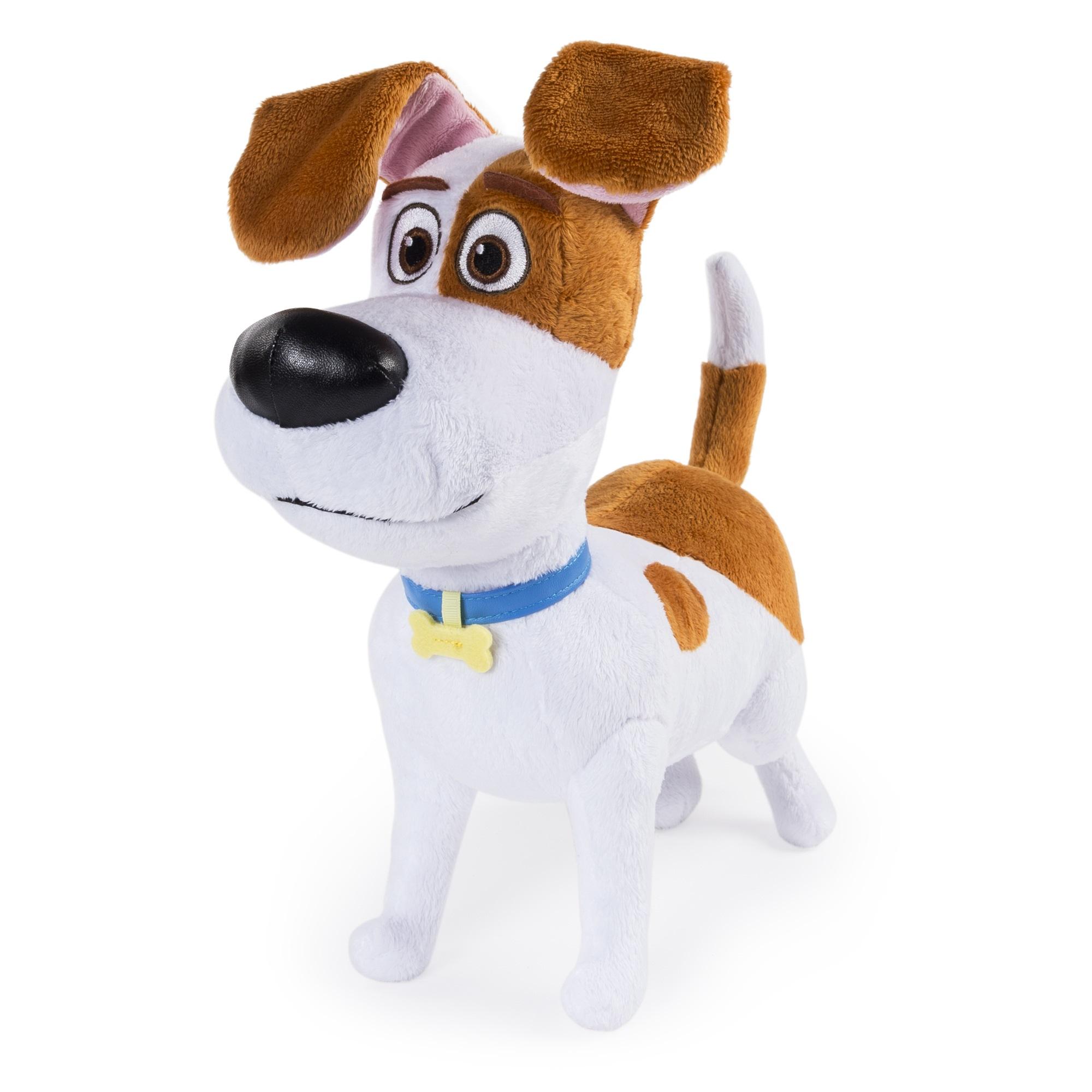 Мягкая игрушка Тайная жизнь домашних животных (Secret Life Of Pets). Терьер Макс (30 см)