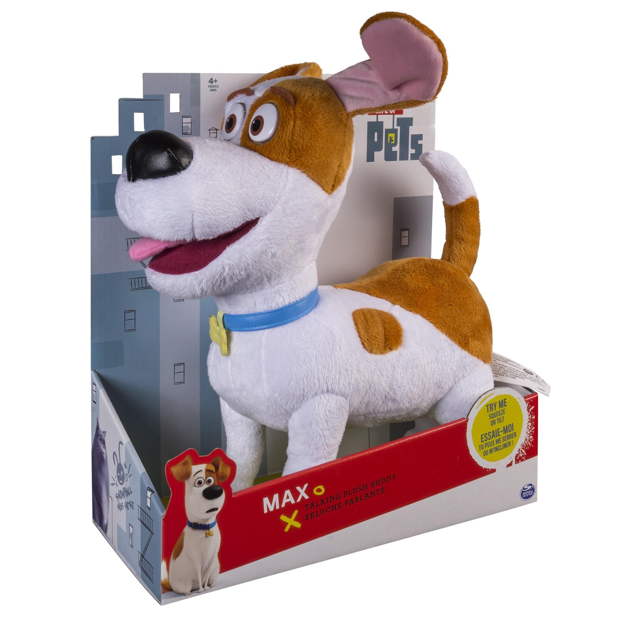 Мягкая игрушка Тайная жизнь домашних животных (Secret Life Of Pets). Терьер Макс со звуком