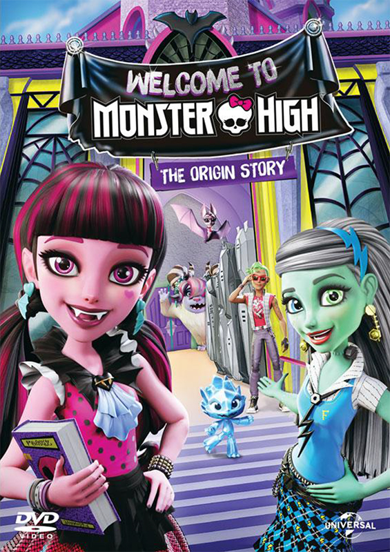 Школа Монстров: Добро пожаловать в Monster High  (DVD)