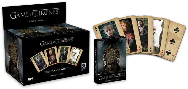 Карты Game of Thrones the dark horse book of monsters