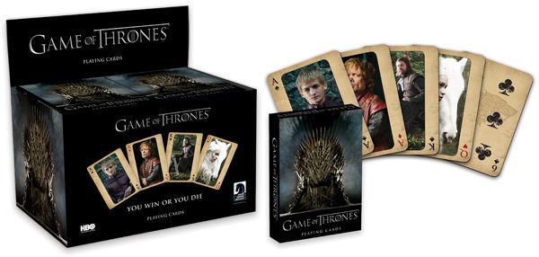 Карты Game of Thrones the dark horse book of horror