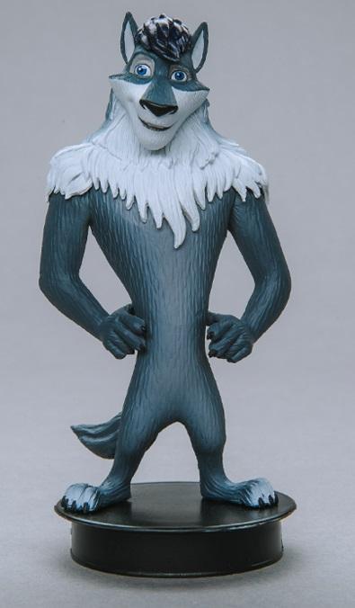 Фигурка Волки и Овцы. Серый (8 см)Представляем вашему вниманию фигурку Волки и Овцы. Серый, созданную по мотивам российского полнометражного мультфильма 2016 года.<br>