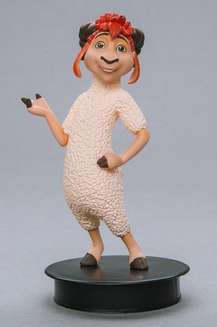 Фигурка Волки и Овцы. Моз (8 см)Представляем вашему вниманию фигурку Волки и Овцы. Моз, созданную по мотивам российского полнометражного мультфильма 2016 года.<br>