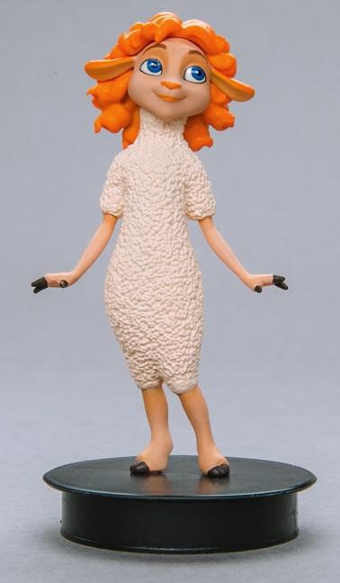 Фигурка Волки и Овцы. Лира (8 см) prosto toys фигурка заботливая баба капа