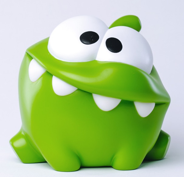 Копилка Cut The Rope. Ам Ням (Om Nom) ледянка 92см cut the rope 1toy