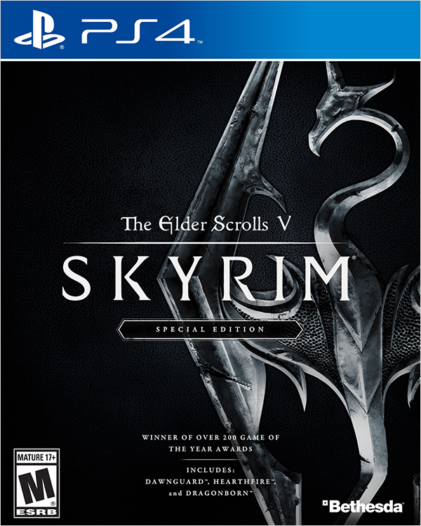Elder Scrolls V: Skyrim. Special Edition [PS4]