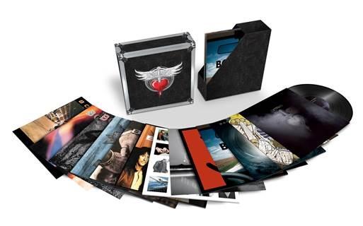 Bon Jovi. The Albums (20 LP)Представляем вашему вниманию альбом Bon Jovi. The Albums, включающее 12 студийных альбомов группы на 20 виниловых пластинках.<br>