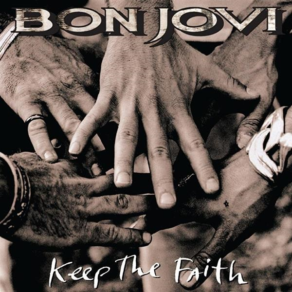 Bon Jovi. Keep The Faith (2 LP) bon jovi in their own words
