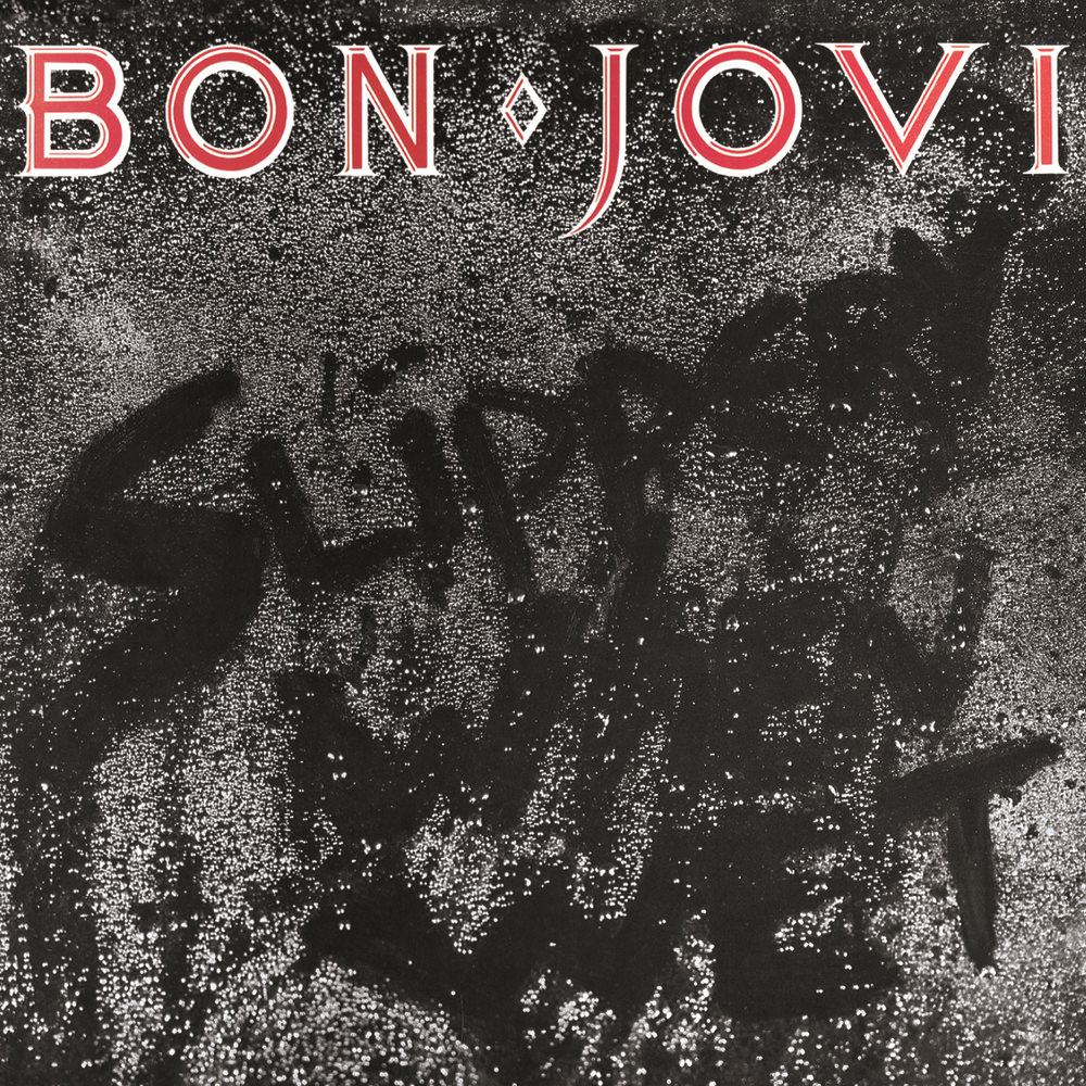 Bon Jovi. Slippery When Wet (LP) bon jovi in their own words