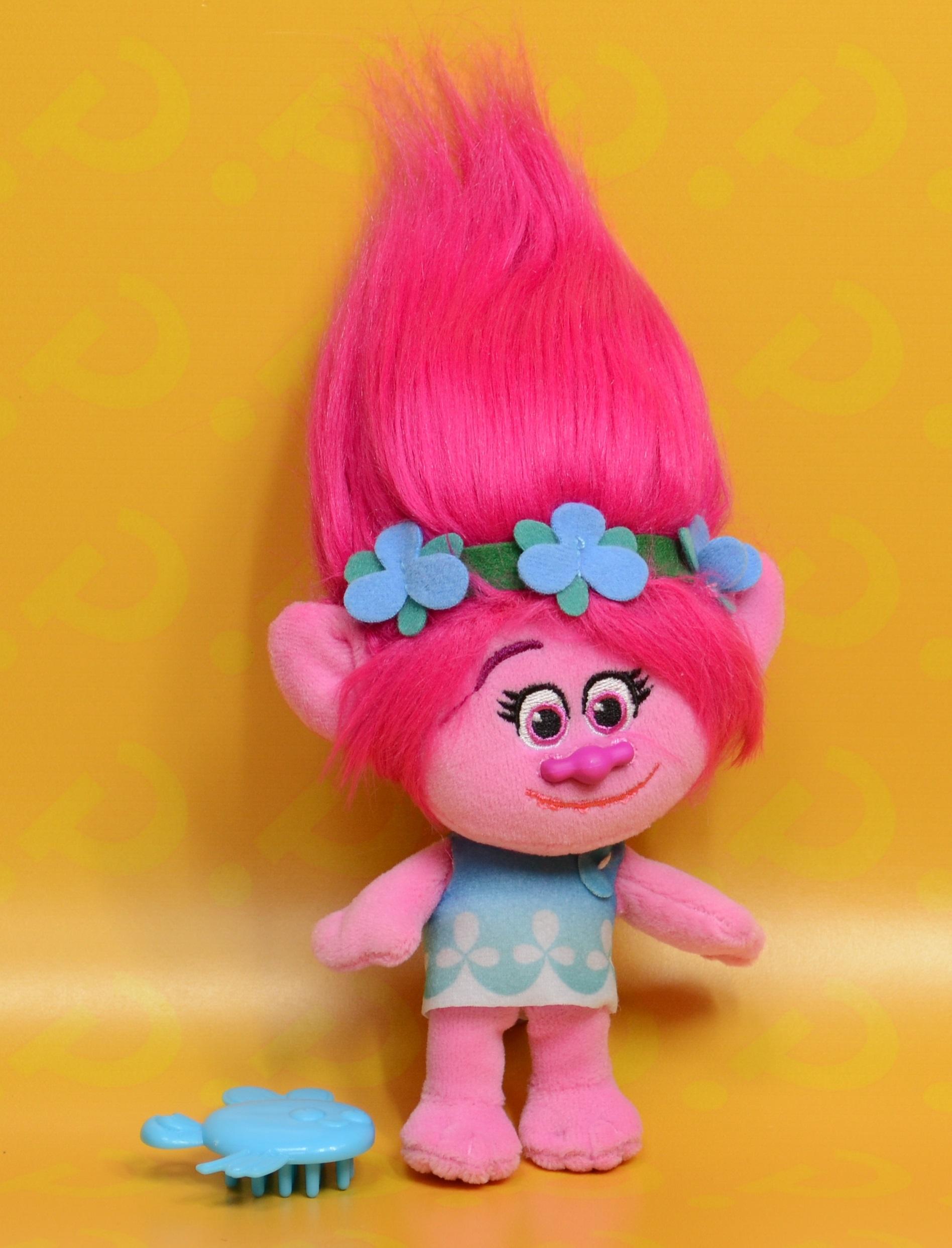 Мягкая игрушка Trolls. Тролль Розочка (Poppy)Представляем вашему вниманию мягкую игрушку Trolls. Тролль Розочка, созданную по мотивам анимационного фильма производства DreamWorks Animation.<br>