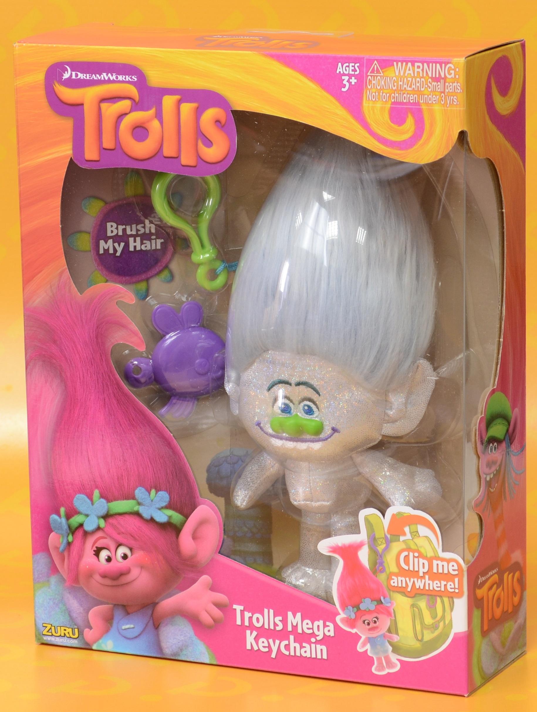 Мягкая игрушка Trolls. Тролль Алмаз (Diamond)Представляем вашему вниманию мягкую игрушку Trolls. Тролль Алмаз, созданную по мотивам анимационного фильма производства DreamWorks Animation.<br>