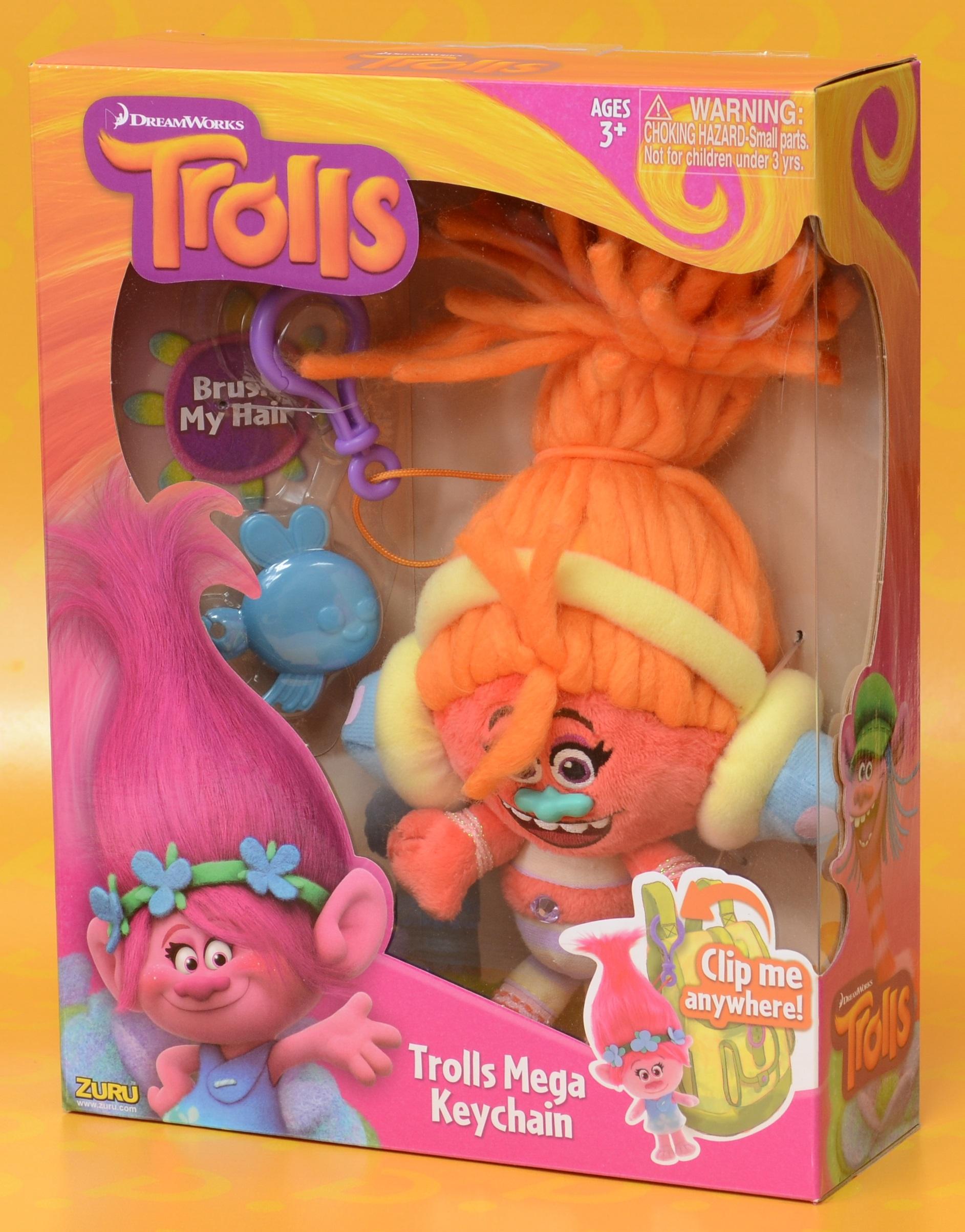 Мягкая игрушка Trolls. Тролль DJ Звуки (DJ Suki)