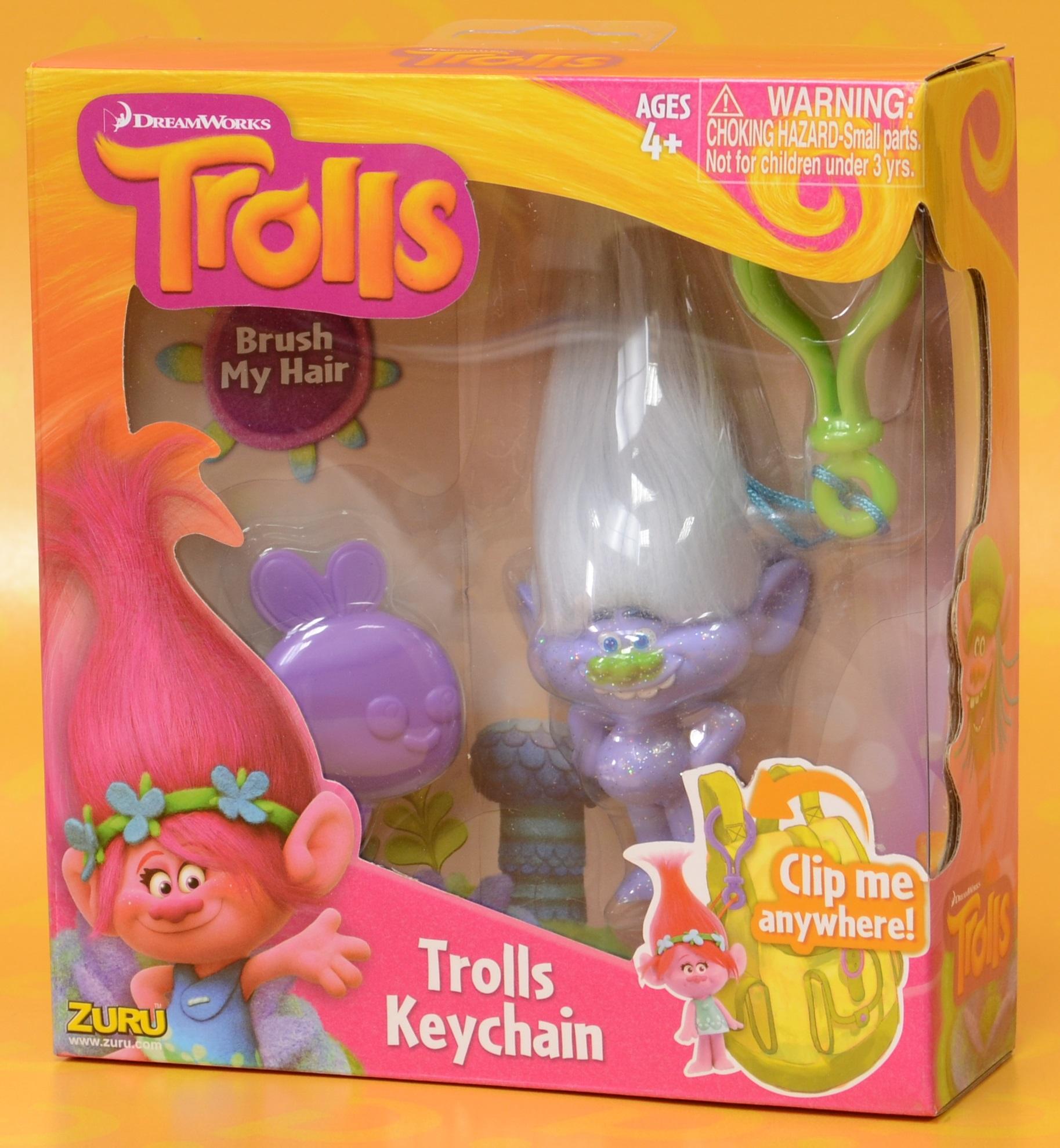 Брелок Trolls. Тролль Алмаз (Diamond)Представляем вашему вниманию брелок Trolls. Тролль Алмаз, созданную по мотивам анимационного фильма производства DreamWorks Animation.<br>